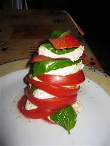 Feuille De Tomate : recette de mille feuille de tomate mozzarella ~ Melissatoandfro.com Idées de Décoration