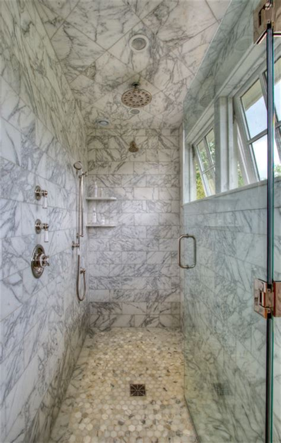 From Pre Fab to Farmhouse   Farmhouse   Bathroom   atlanta
