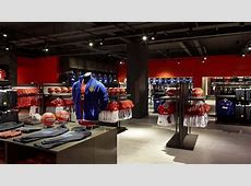 Nike Manchester United Store Nulty Lighting Design Consultants