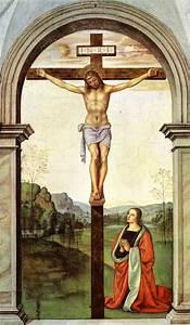 The Crucifixion, 1494 - 1496 - Pietro Perugino - WikiArt.org