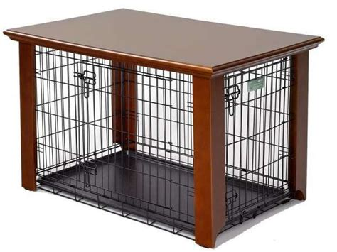 wooden dog crate cover fidos spot doggie doors