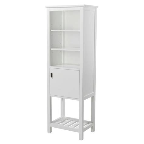 home depot white storage cabinets home decorators collection fraser 20 in w x 60 in h x 14