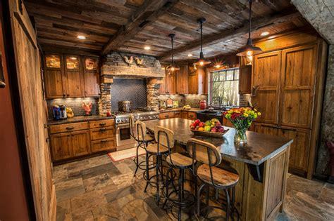 range-hood-insert-Kitchen-Rustic-with-apron-sink-Custom