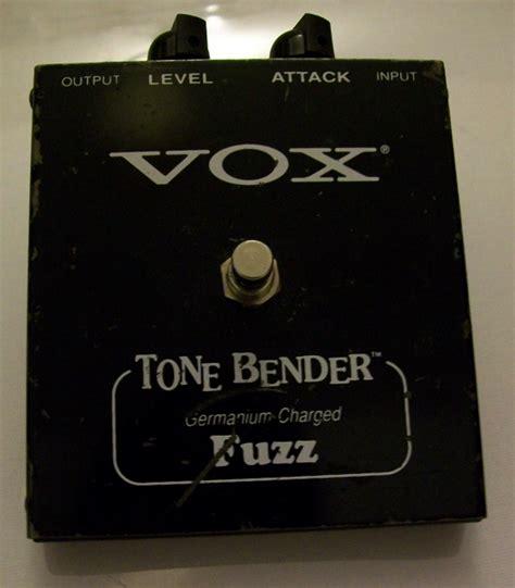 Vox Tone Bender Tonebender Reissue Fuzz Pedal Rare