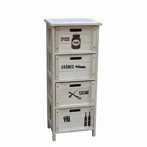 Petit Meuble à Tiroirs : petit placard cuisine armoire colonne cuisine cbel cuisines ~ Teatrodelosmanantiales.com Idées de Décoration
