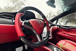Tesla Model X with Bentley Red Interior will cost $180k - Drivers Magazine