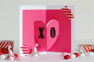 Pop-Out Valentine's Day Card | Make and Takes