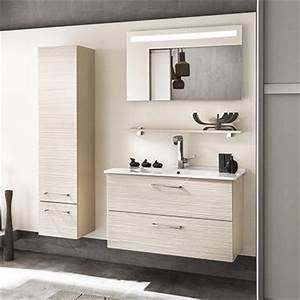 Meuble Salle De Bain 90 : meuble salle de bain 90 120 cm espace aubade ~ Teatrodelosmanantiales.com Idées de Décoration