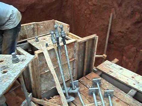Gantry G1c1 Pedestal Formwork Construction Youtube