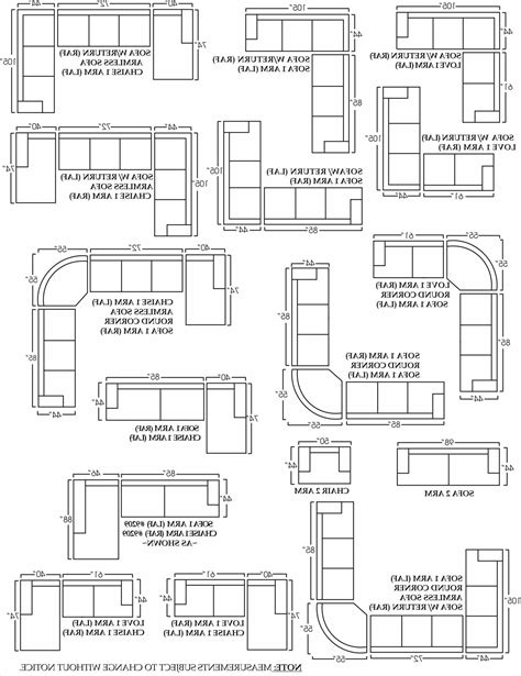Sectional Sofa Sizes by Sectional Sofa Dimensions Standard Inspirational Sofa