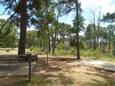 bastrop state park campsites  water texas parks