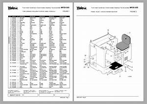 Yale Forklift Collection Model Parts Catalog Cd