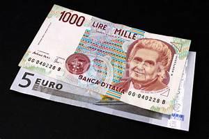 Euro Lira Rechner : old italian lira and euro banknotes ~ Buech-reservation.com Haus und Dekorationen