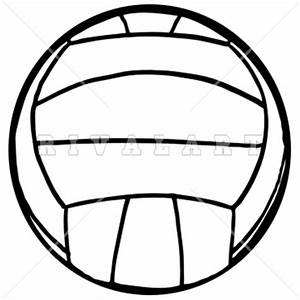 The gallery for --> Volleyball Clipart Black And White