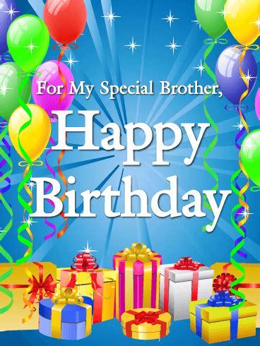 Happy Birthday Brother Cards