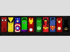 DC Marvel Minimalistic Dual by bbboz on DeviantArt
