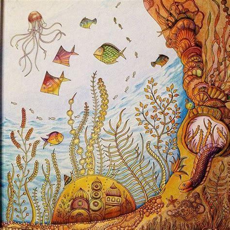 lost ocean  johanna basford images  pinterest