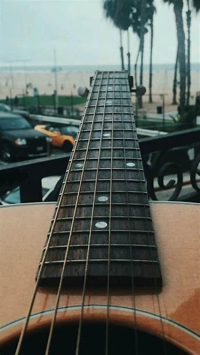 Guitar Iphone Bass Wallpapers Guitars Neon Lights