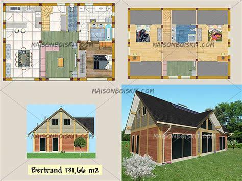 plans gratuits de maisons individuelles en bois