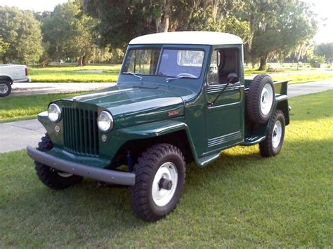 willys truck  willys jeep pickup project willys