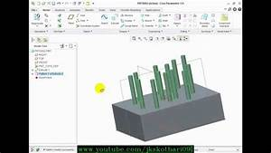 Table And Point Pattern Creo Parametric 17g
