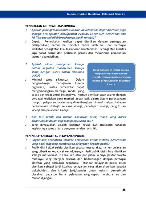Faqs Frequently Asked Questions Reformasi Birokrasiebook