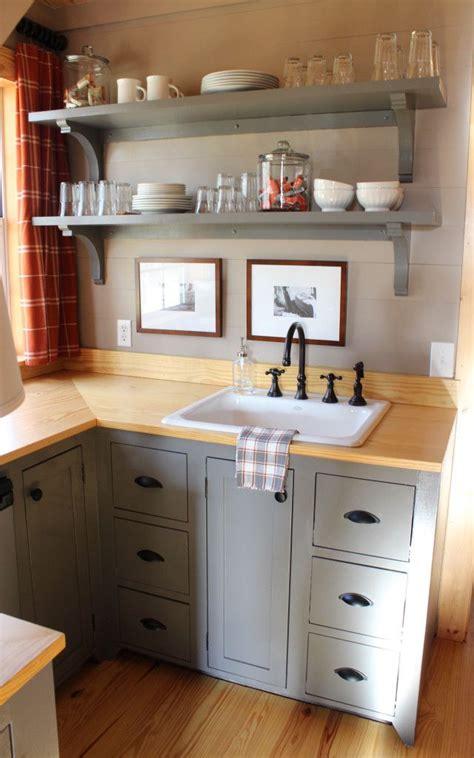 attic kitchenette shelves  home pinterest room