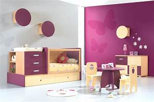 Decoration Murale Chambre Enfant : couleur mur chambre ~ Teatrodelosmanantiales.com Idées de Décoration