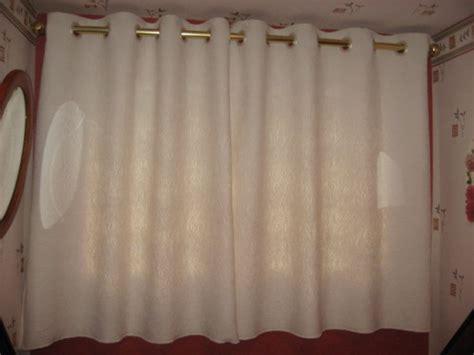 comment coudre des doubles rideaux