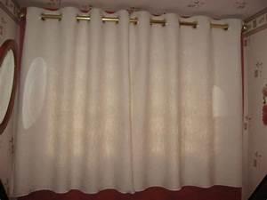 Double Rideaux La Redoute : faire ses doubles rideaux avec oeillets les tutos de pamina ~ Dallasstarsshop.com Idées de Décoration