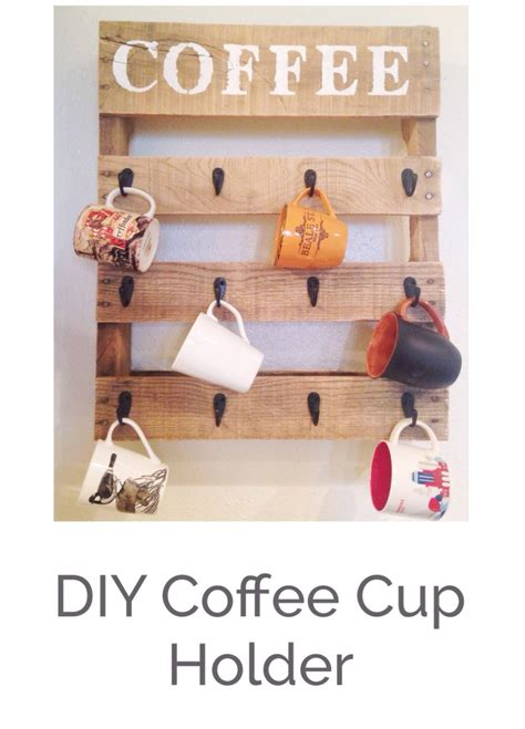 This diy coffee cup holder is essential for those of you with a caffeine habit, and nowhere to safely store your cup on a long. diy-coffee-cup-holder - BigDIYIdeas.com
