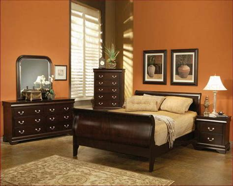 bedroom paint colors with oak furniture home delightful
