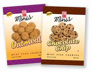 food beverage packaging design food packaging With cookie labels packaging