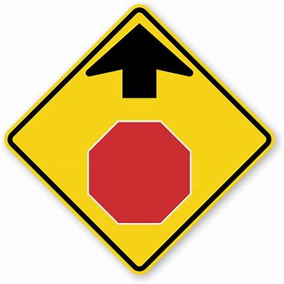 Ahead Stop Signs Road Sign W3 Permit