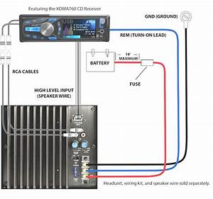 Car Amplifier Installation Wiring Diagram