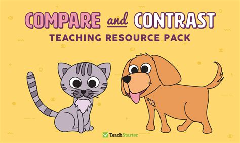 comprehension strategy teaching resource pack compare