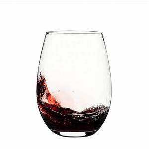 Set, Of, 4, Large, 20, Oz, Eravino, Stemless, Crystal, Wine, Glasses