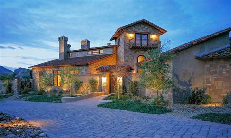 Custom Homes Arizona Luxury House Design 3rd story