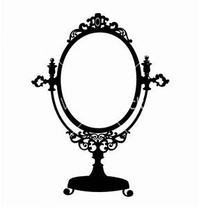 Antique Oval Frame Silhouette Clipart Panda Free