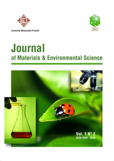 journal  materials  environmental science