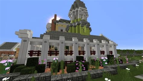 large victorian house minecraft building