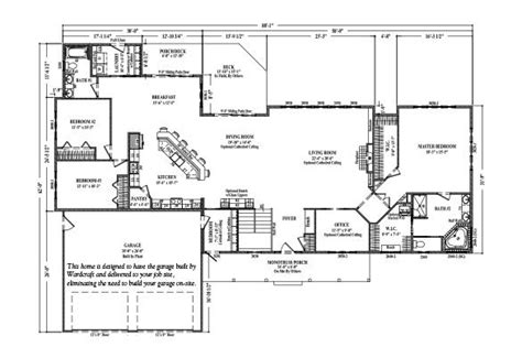 callaway iii wardcraft homes home floor plans house plans