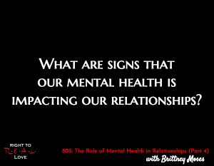 The Role Of Mental Health In Relationships (part 4. Logo Nba Signs. 90% Signs. Iconic Signs. Dry Tongue Signs. Toddler Home Remedy Signs. Hotel Door Signs. Mouth Ulcer Formation Signs. Aed Signs