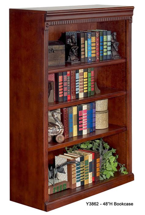 48 High Bookcase by Huntington Cherry Bookcase Collection 48 Quot High Cherry