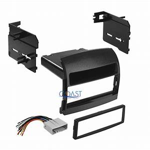 Car Radio Stereo Single Din Dash Kit Wire Harness For 2006