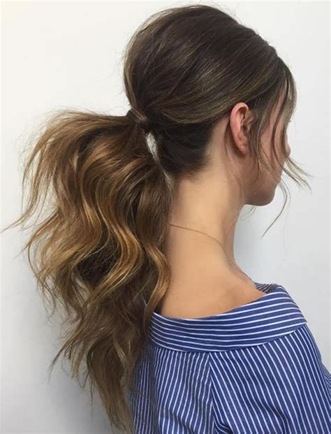 Ponytail Hairstyles by The 20 Most Attractive Ponytail Hairstyles For