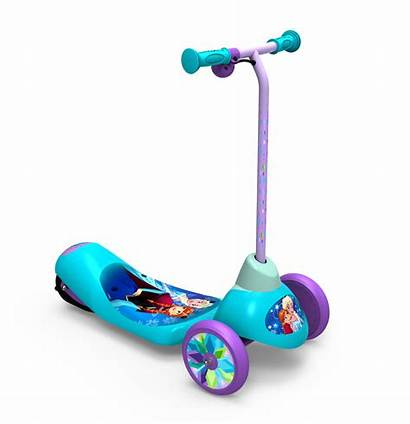 Scooter Toy Electric Frozen Ride Outdoor Princess