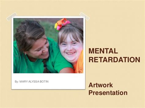 art activities  mental retardation
