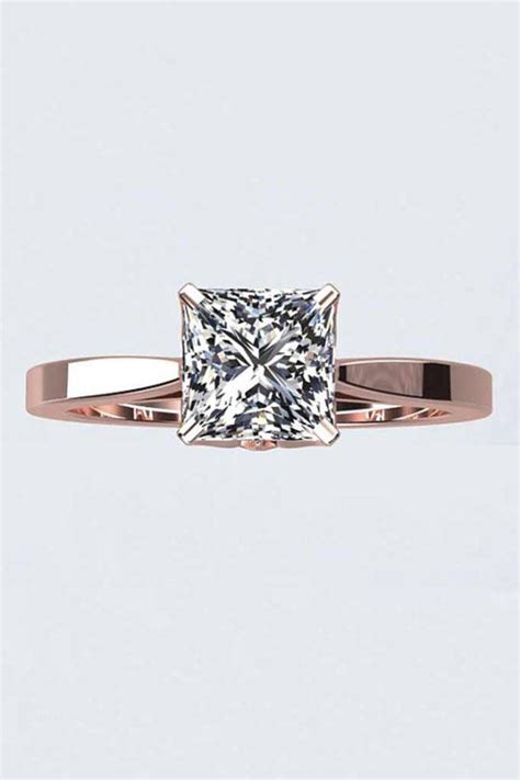 15 photo of wedding band to go with princess cut