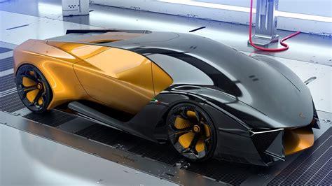 Lamborghini Belador Hybrid Supercar Concept